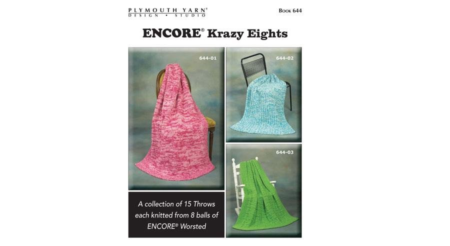 Encore Krazy Eights design book from Plymouth