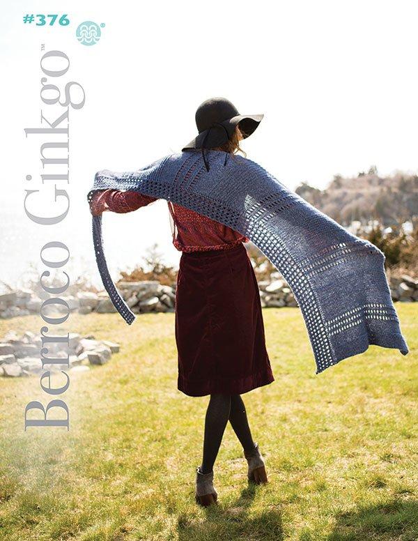 Berroco Booklet #376 Ginkgo yarn patterns