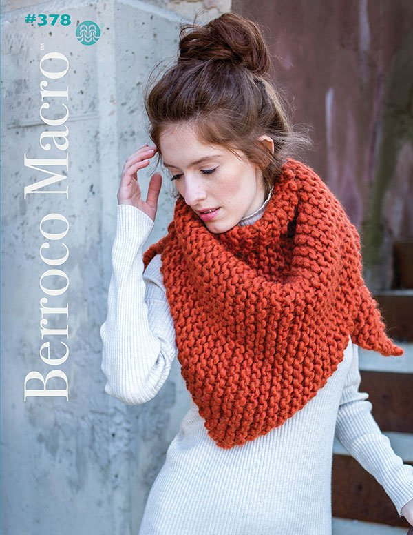 Berroco Booklet #378 Macro yarn patterns