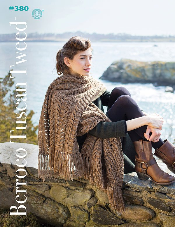 Berroco Booklet #380 Tuscan Tweed yarn patterns