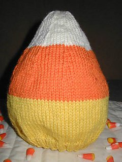 Candy Corn Hat pattern from Lisa Carnahan