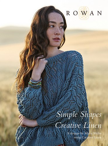Simple Shapes Creative Linen design book by Rowan