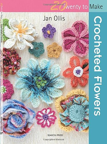 20 To Make - Crocheted Flowers design book