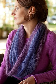 Crocheted Moebius Cowl pattern from Churchmouse