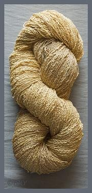 Cotton Rayon Seed yarn by Blue Heron