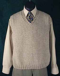 Dad's Vest pattern from Lisa Carnahan