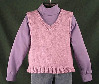 Daughter's Vest pattern from Lisa Carnahan
