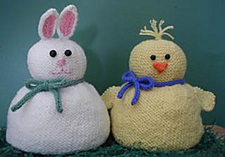 Springtime Friends Hats pattern from Lisa Carnahan