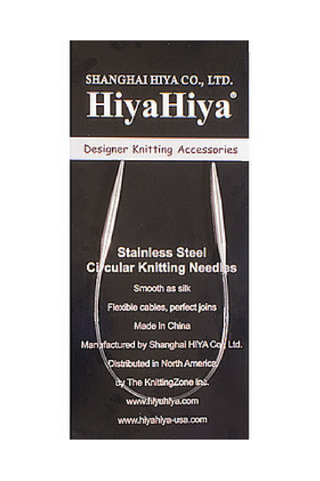 HiyaHiya Steel Circular Needles 1.5 tip