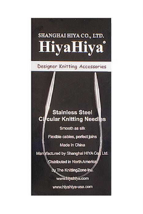 HiyaHiya Steel Circular Needles 04 tip