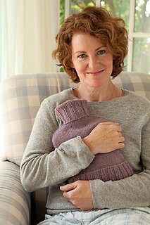 Hot Water Bottle Cozy pattern from Churchmouse