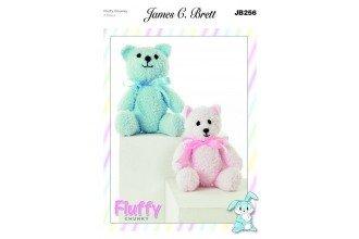 Fluffy Chunky pattern JB256 - Bears from James C Brett