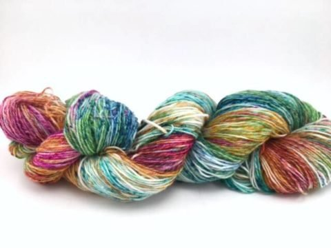 Twizzlefoot yarn by Mountain Colors