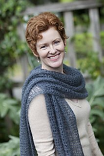 Kelly's Frothy crocheted scarf and wrap