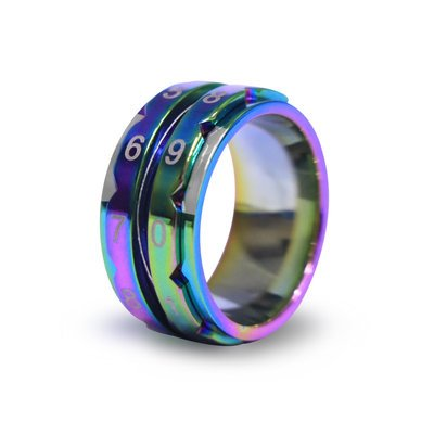 Row Counter Ring-Rainbow-from Knitter's Pride