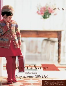 Rowan Mini Collection Baby Merino Silk DK design book