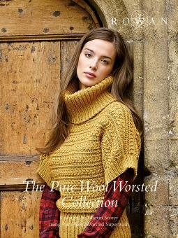 Pure Wool Worsted Collection design book