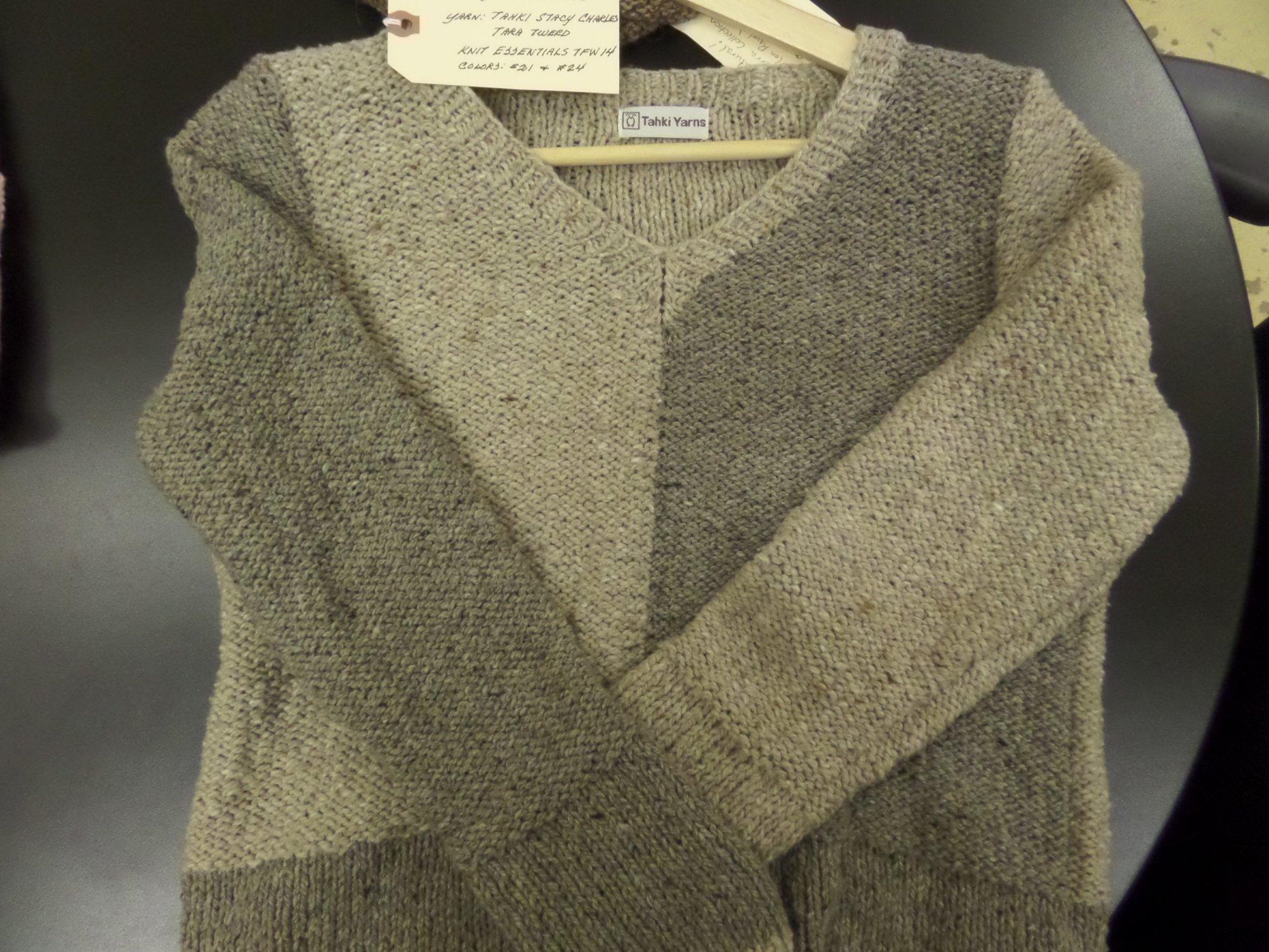 Unity Pullover in Tara Tweed  yarn by Tahki