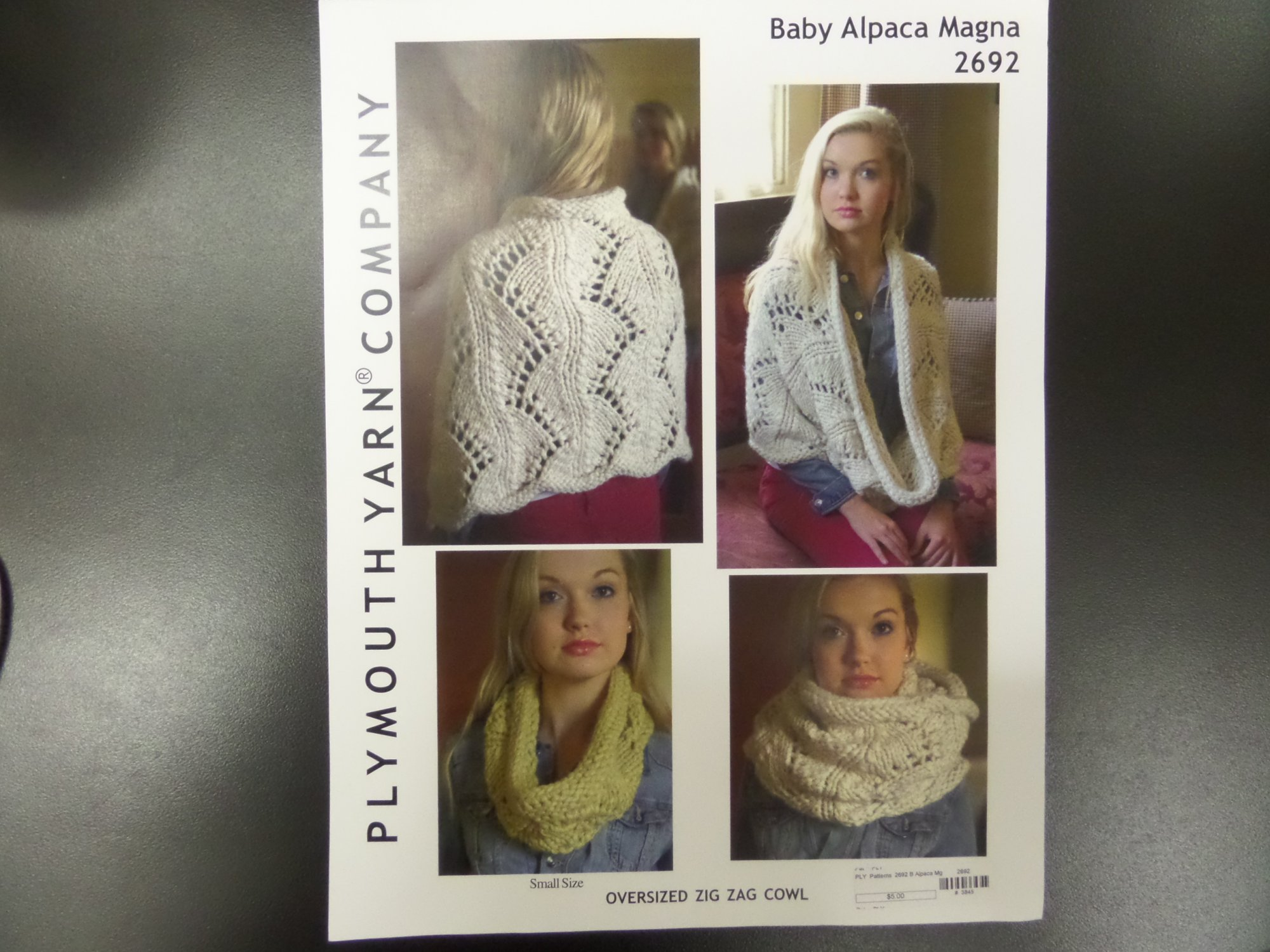 Baby Alpaca Magna patterns by Plymouth