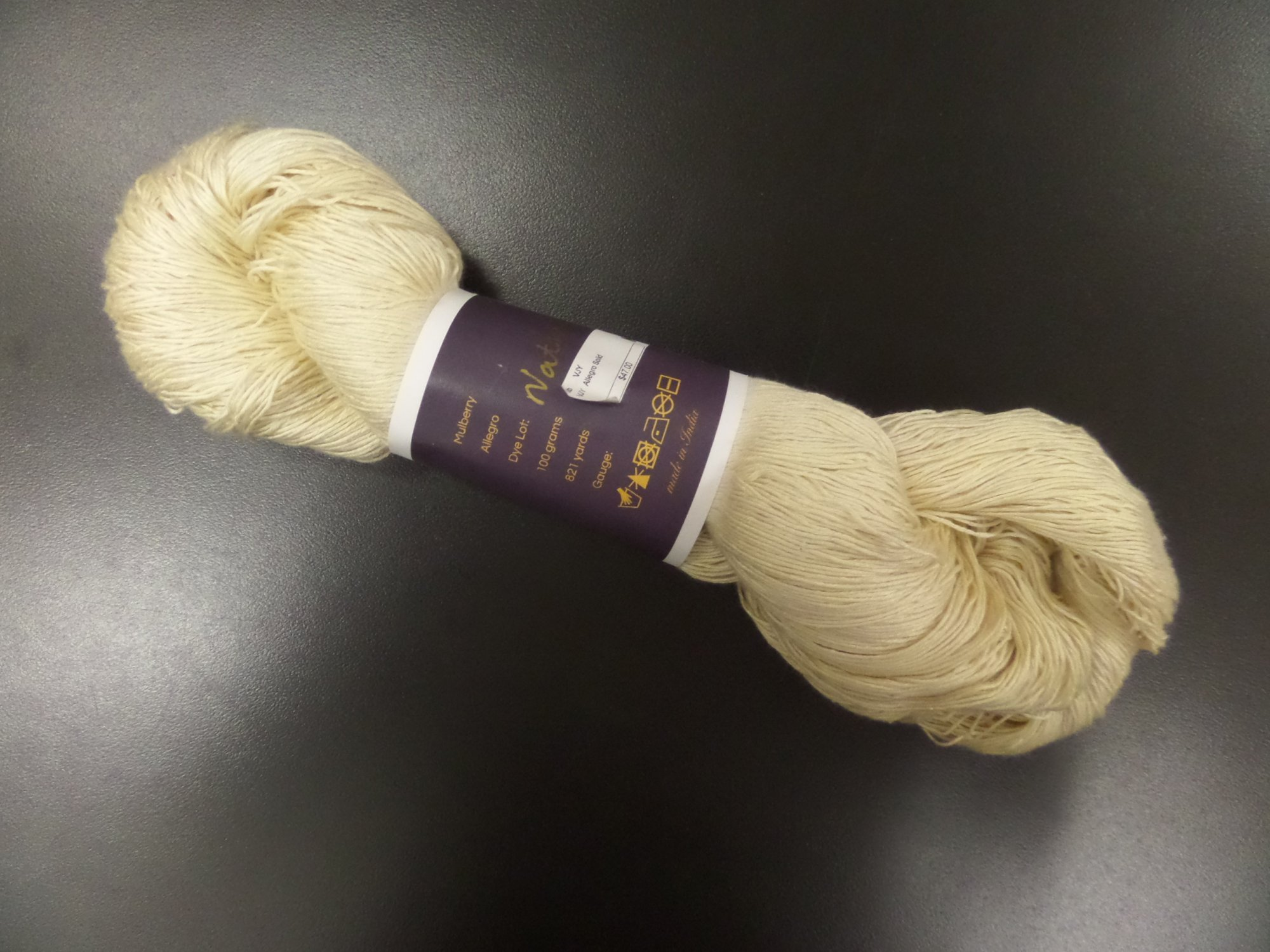Allegro Solid yarn by Vijay Fibers