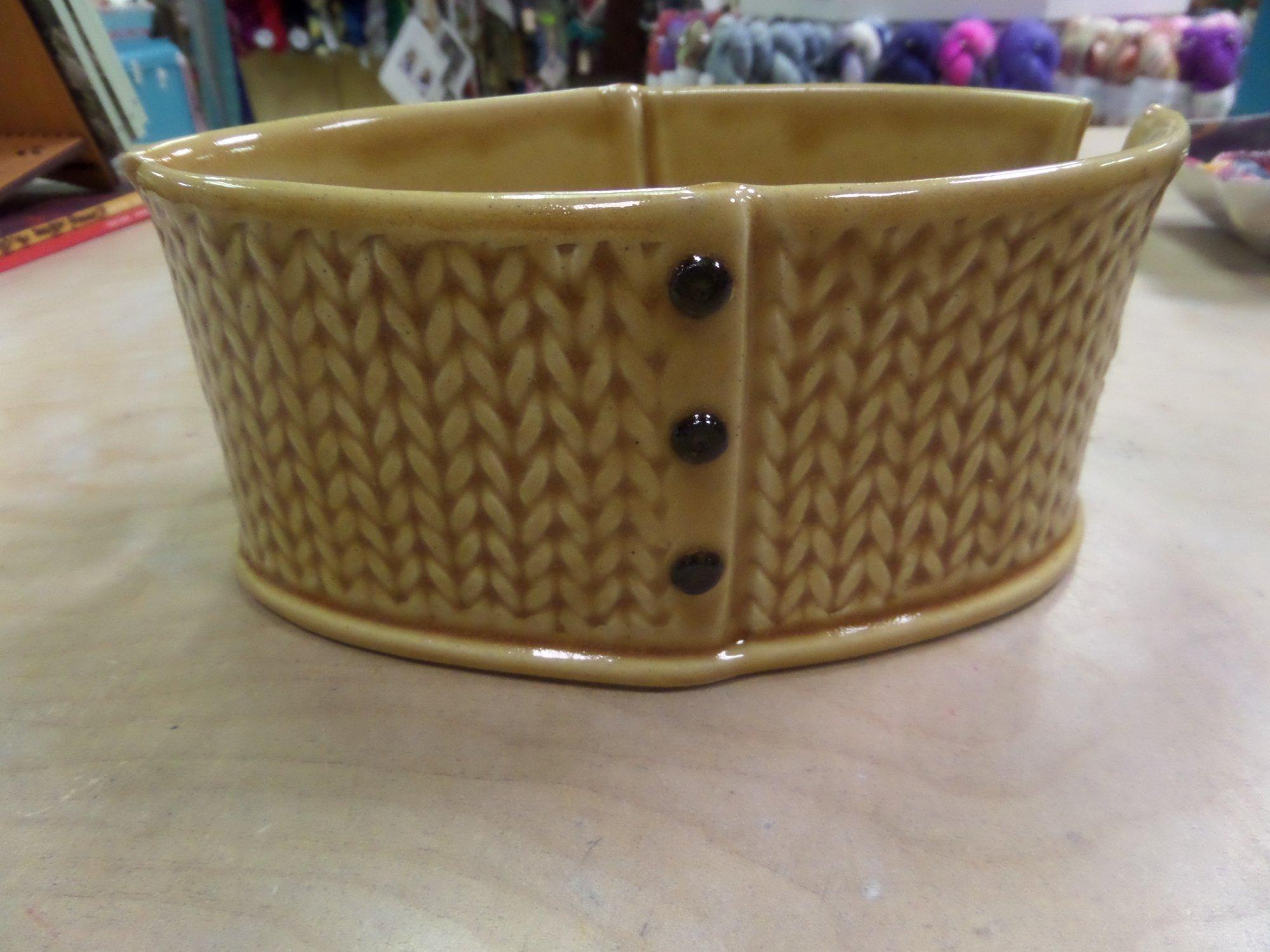 Yarn Bowl by Creative with Clay