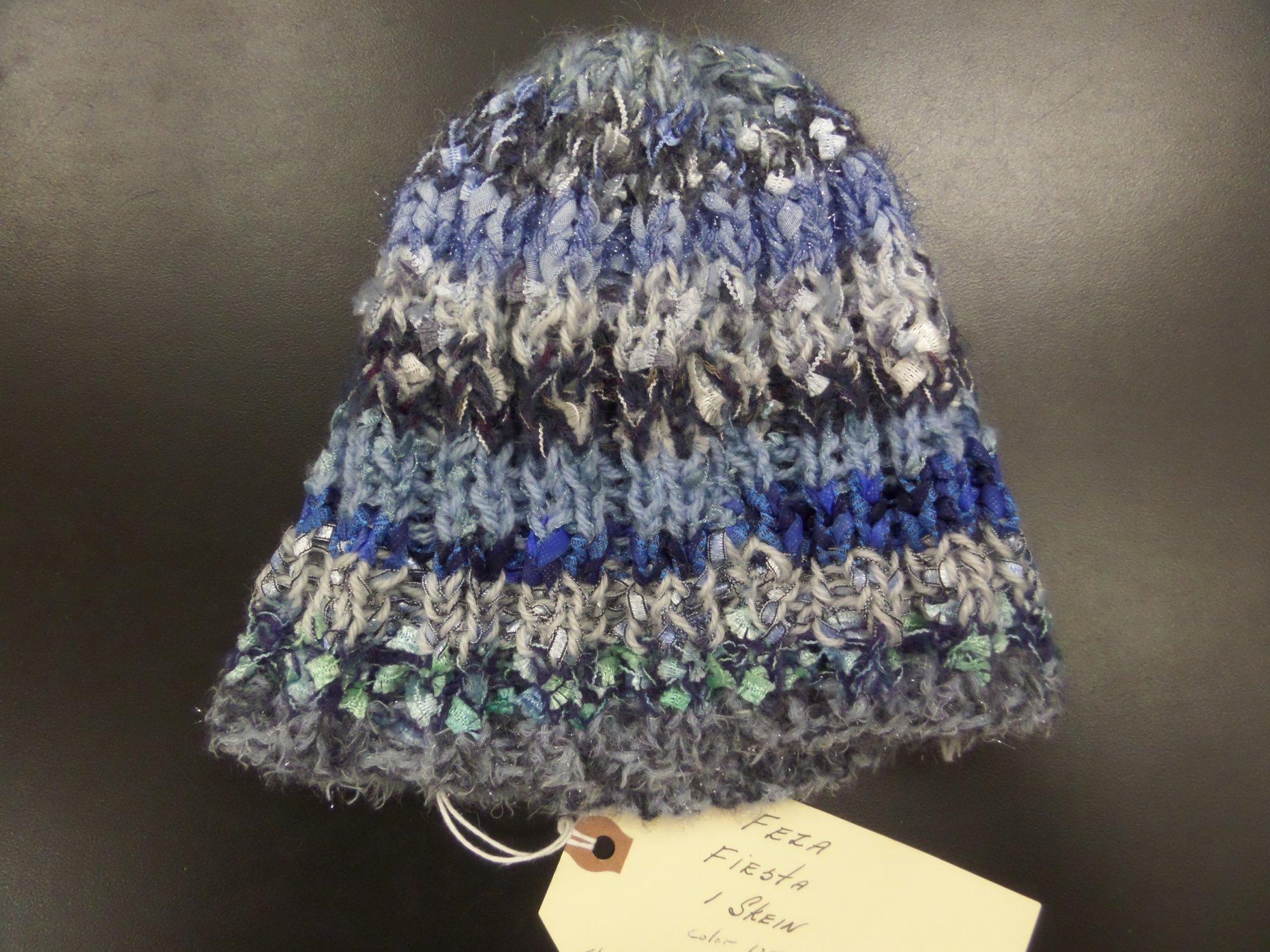Hat model in Fiesta yarn from Feza