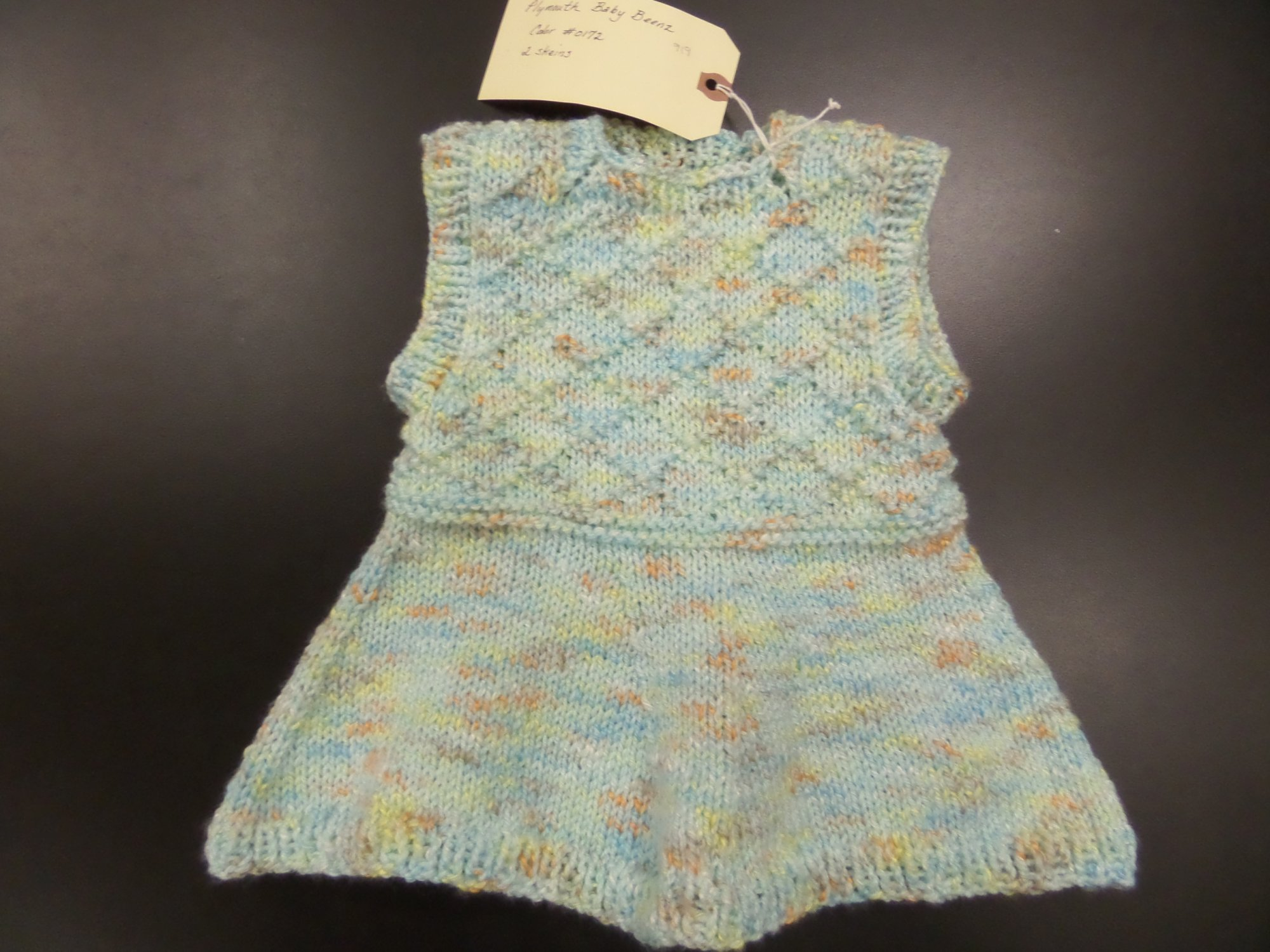 Girl's Sleeveless Tunic model in Baby Beenz from Plymouth