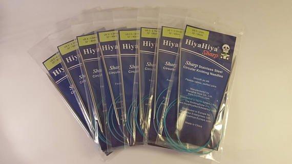 HiyaHiya Sharp Steel Circular Needles 03 tip