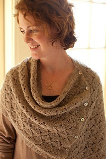 Smocked Lace Wrap and Shrug pattern from Churchmouse