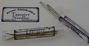 Bent Tip Tapestry Needle- Silver by Bryson