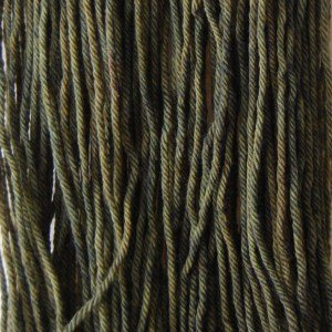 Targhee Shimmer Worsted yarn by Knitted Wit