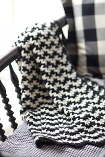 Vintage Crocheted Blanket pattern from Churchmouse