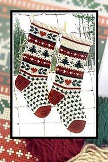 Christmas Stocking - Evergreen