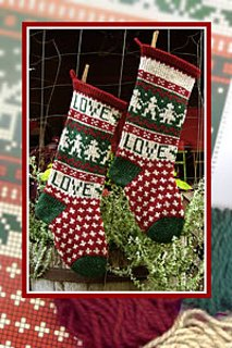 Christmas Stocking - Love