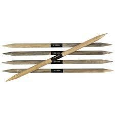 6 Lykke Driftwood Double Point Needle
