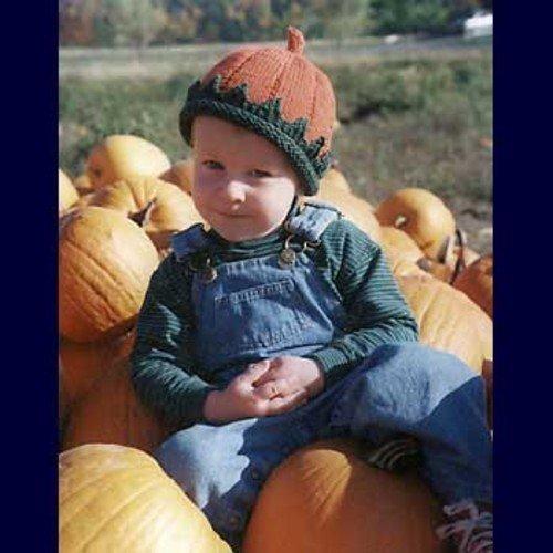Patrick's Pumpkin Hat by Fiber Trends