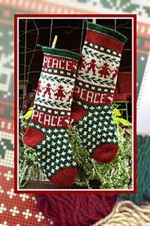 Christmas Stocking - Peace