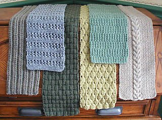 Six Simple Scarves from Lisa's Knits