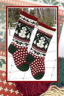 Christmas Stocking - Snowman