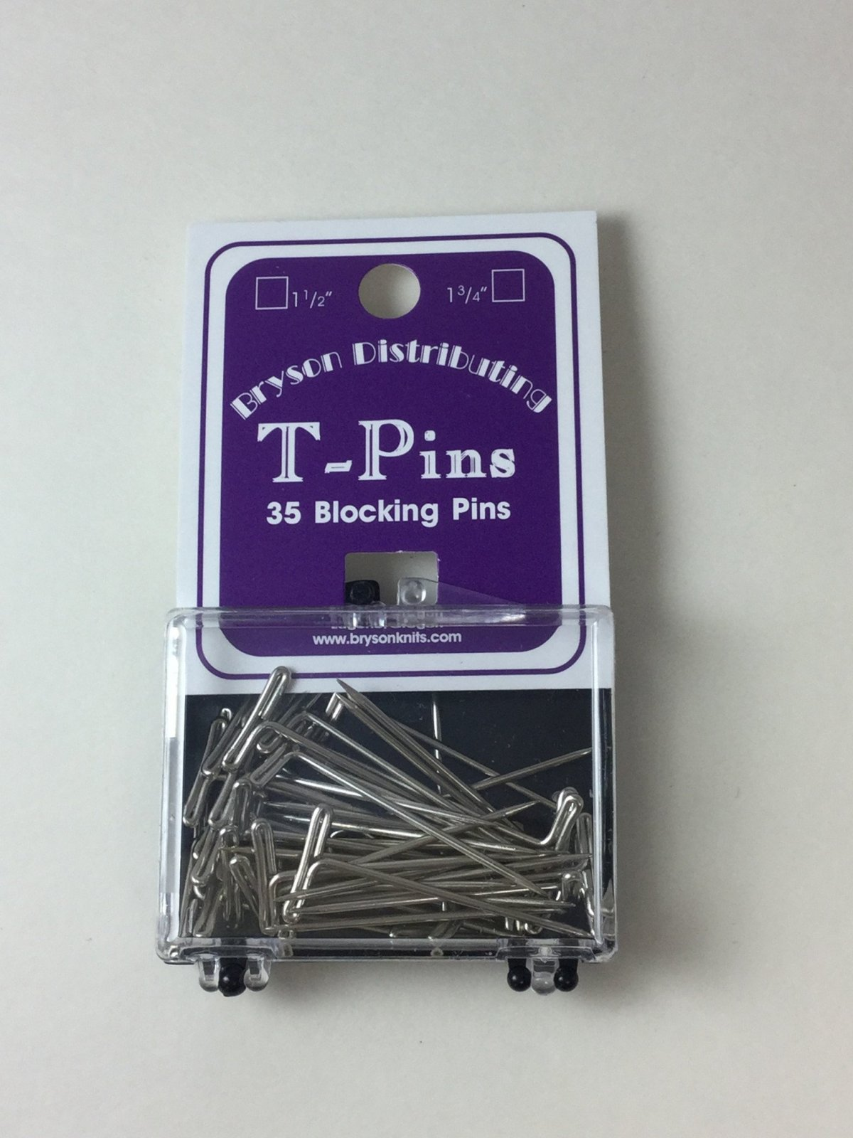 T-pins by Bryson