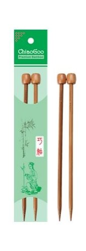 7 ChiaoGoo Patina Bamboo Single Point Needle
