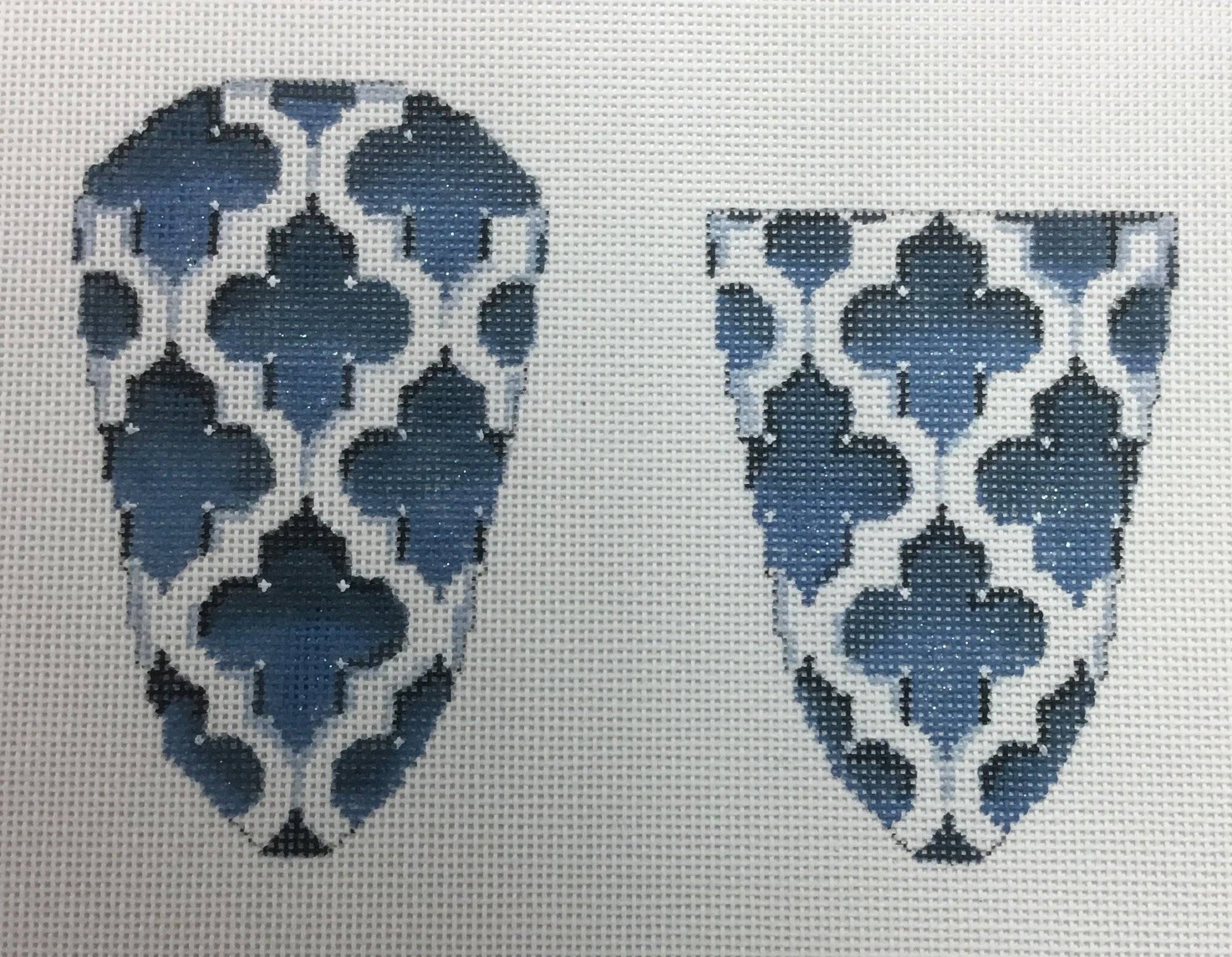 Blue Scissor Case,18 ct.,3x4 1/2