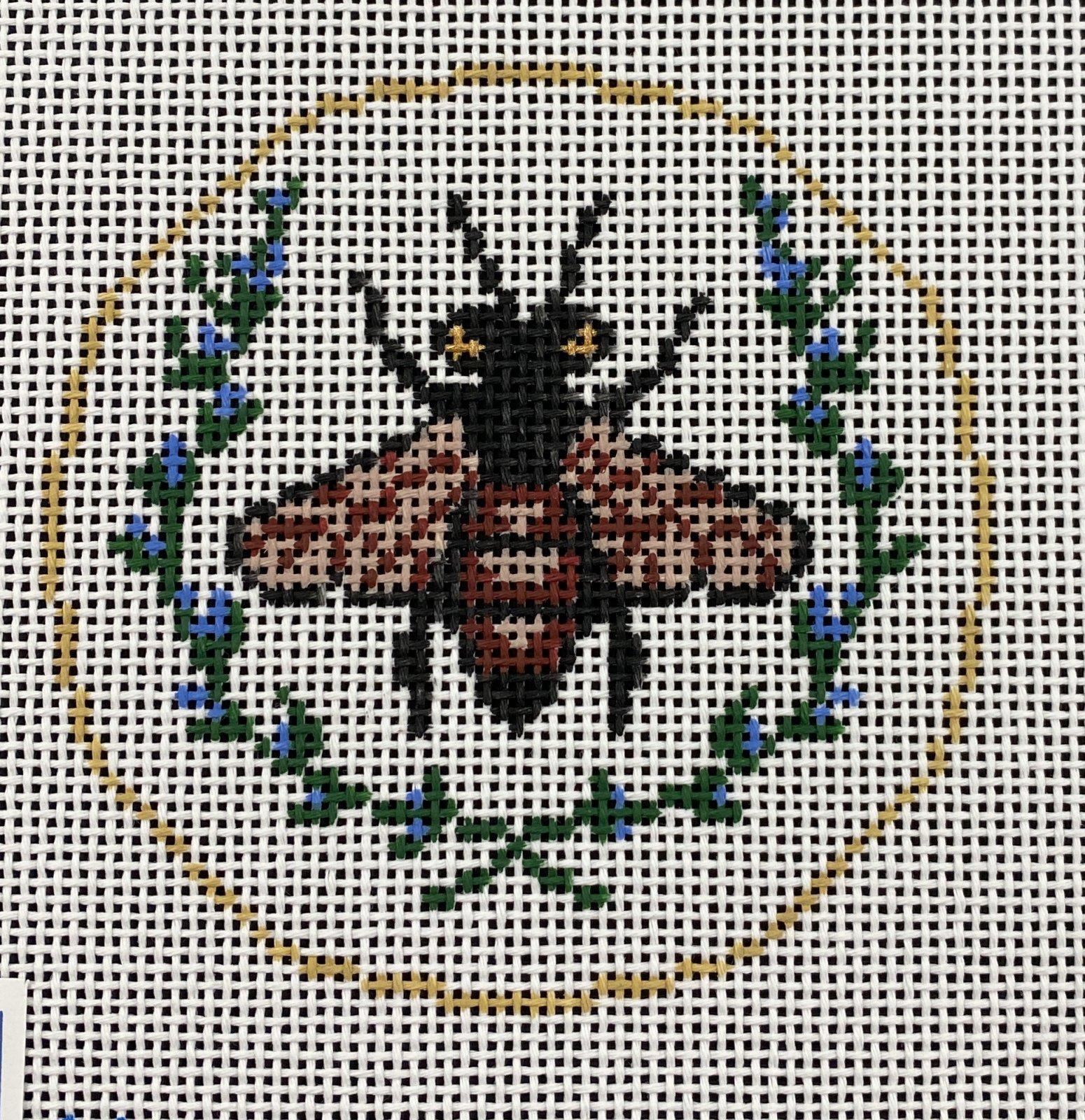 Black Bee,13ct.,4.25x4.25