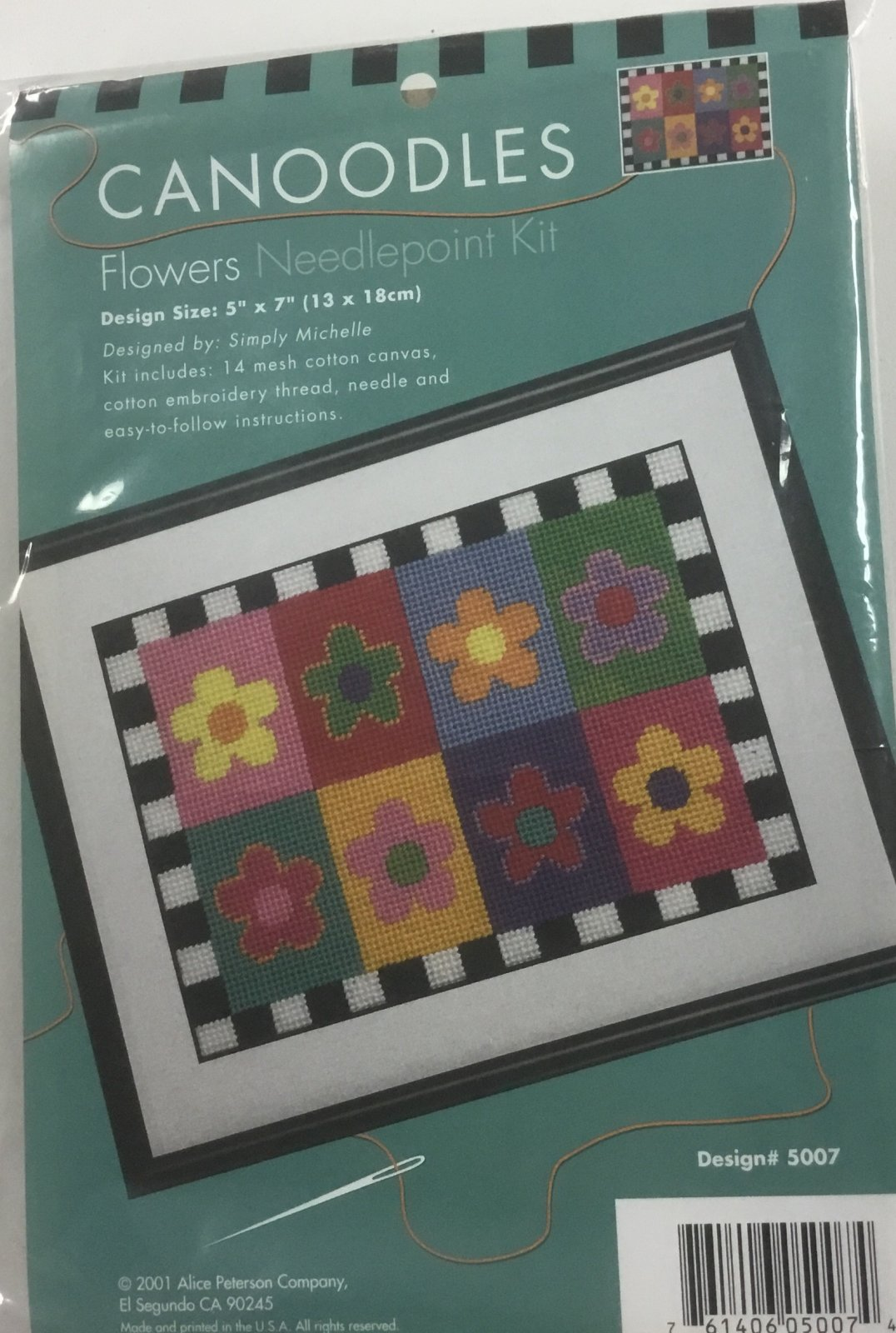 Canoodles Flowers,14 ct.,5x7