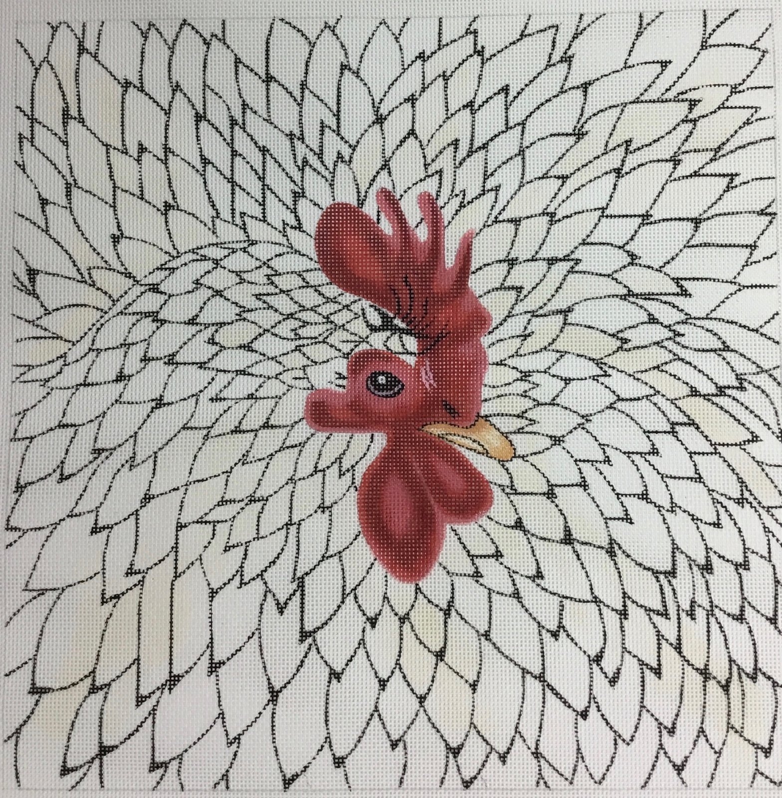 No Name Chicken, 13M, 14.5x14.5