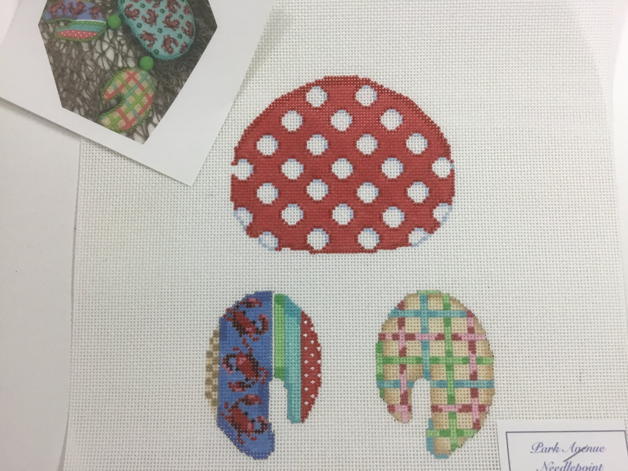 Coin Dot Crab,18 ct.,4x 5 1/2