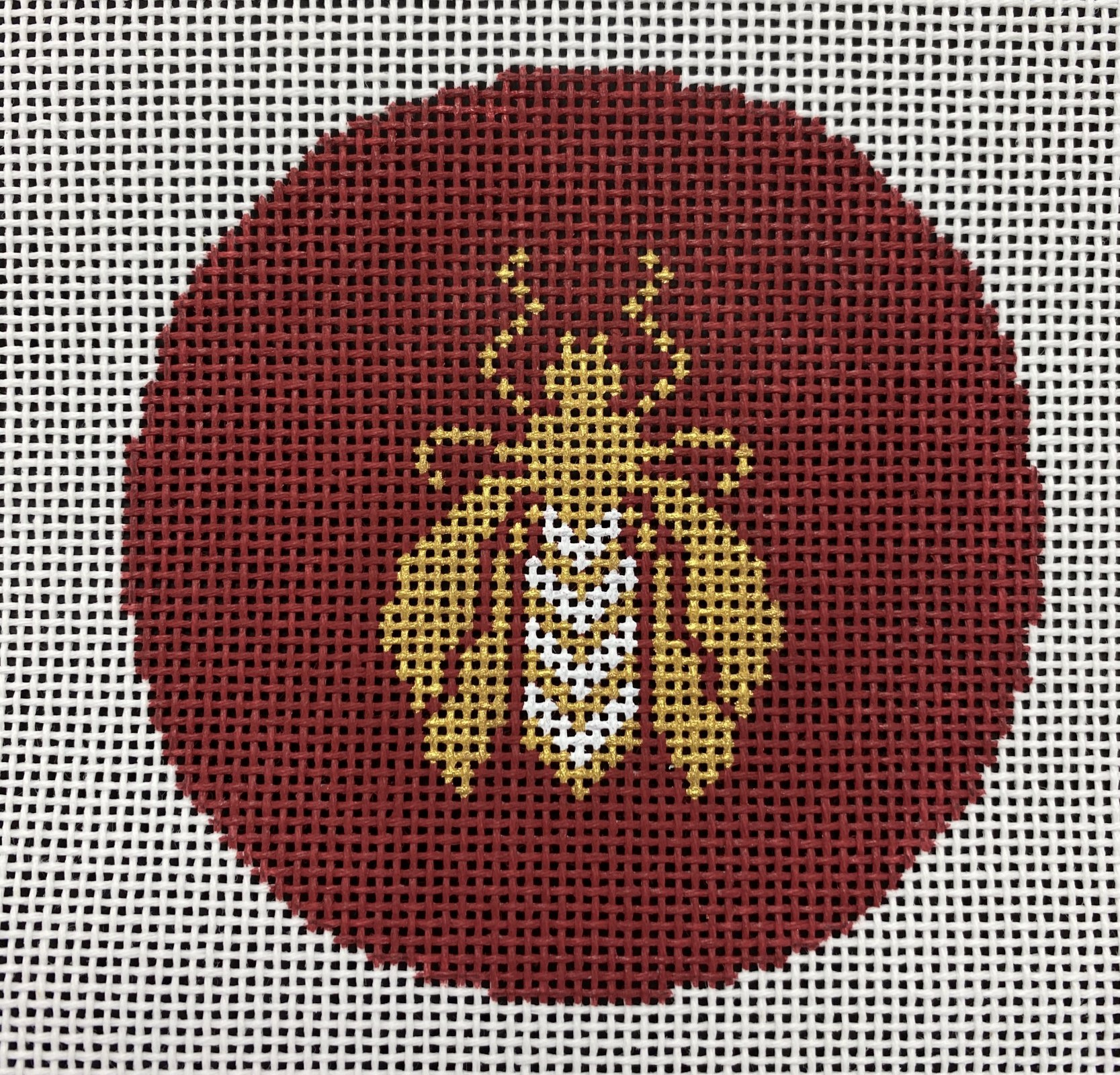 Bee Round Red,14 ct.,4