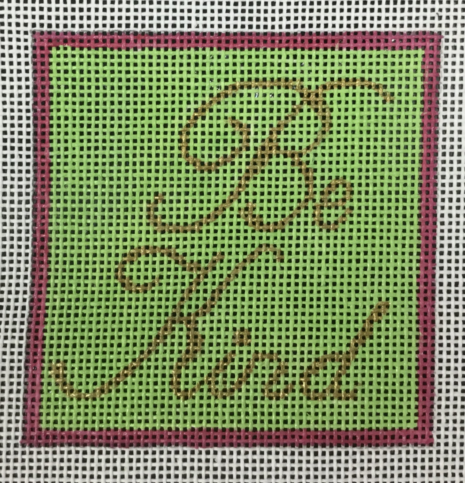 Be Kind Pink & Green, 18M, 3x3