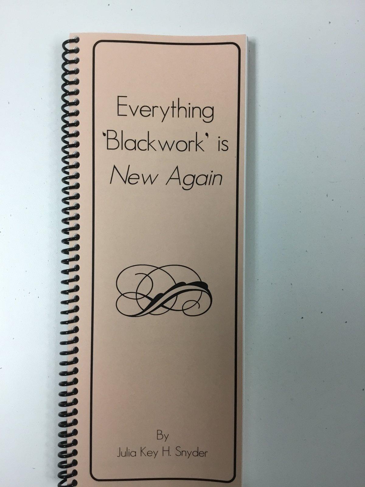 Everything Blackwork is New Again