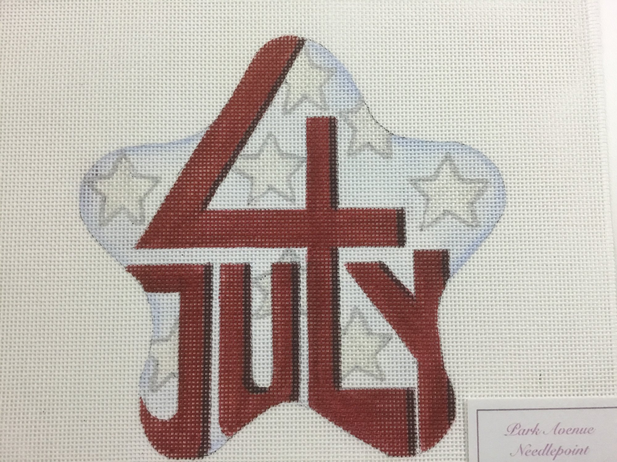 4th of July w/ Stars, 18 ct., 6 x 6